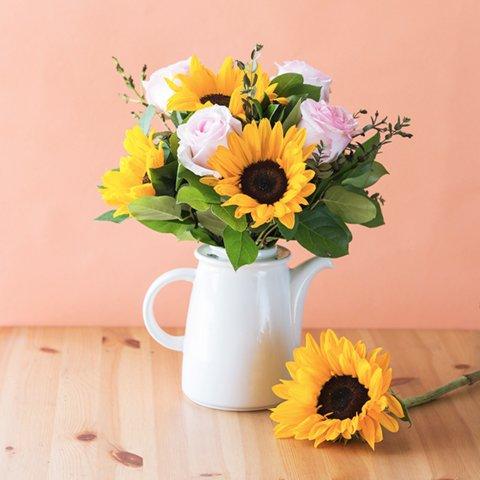Miodowe Usta: Słoneczniki i Róże