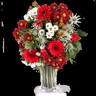 Truskawkowe Pole: Róże i Polne Kwiaty
