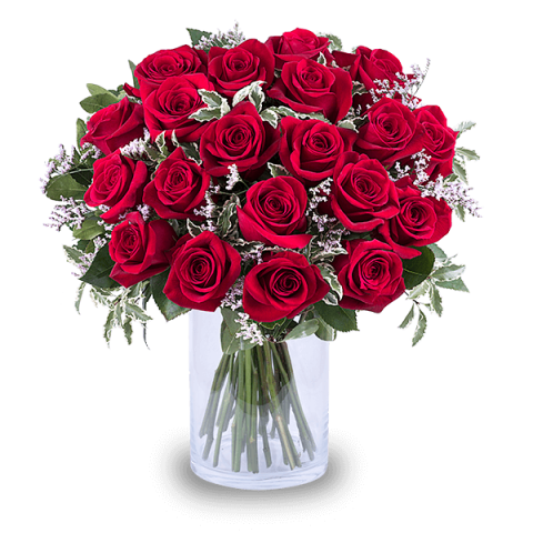 Queen of Hearts: 20 Red Roses